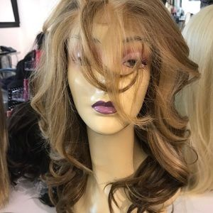 Accessories - Fulllace Wig Blonde Alopecia hairloss 2019 New Wig